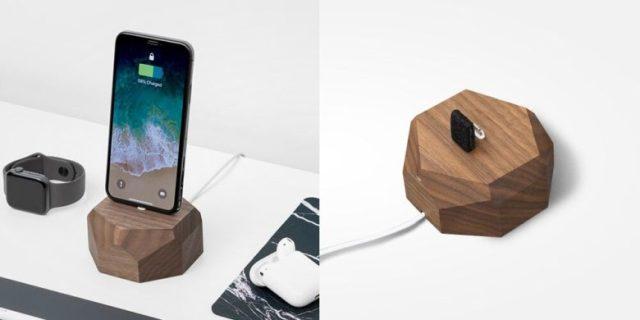 Oakywood iPhone Dock