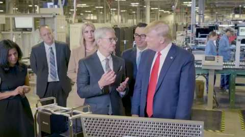 Trump snagged the very first 2019 Mac Pro