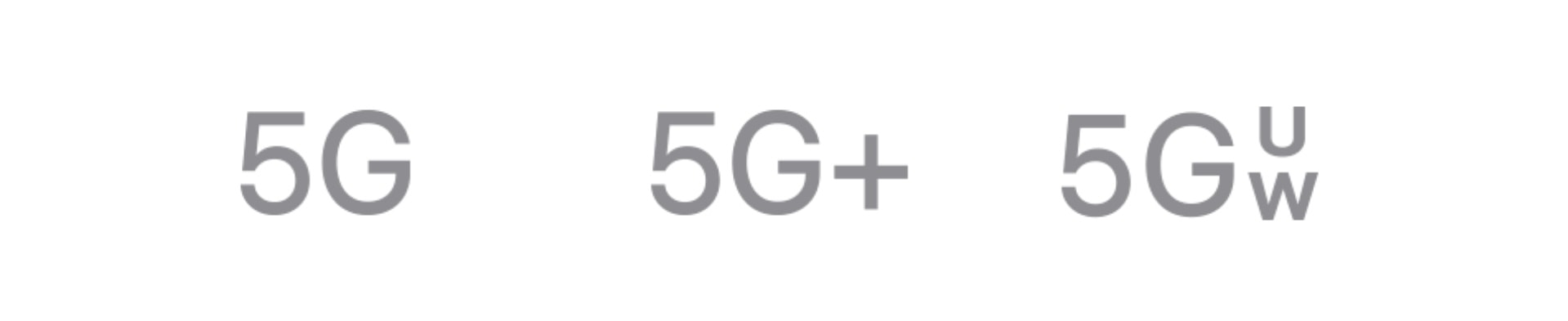 Understand 5G icons on iPhone 12