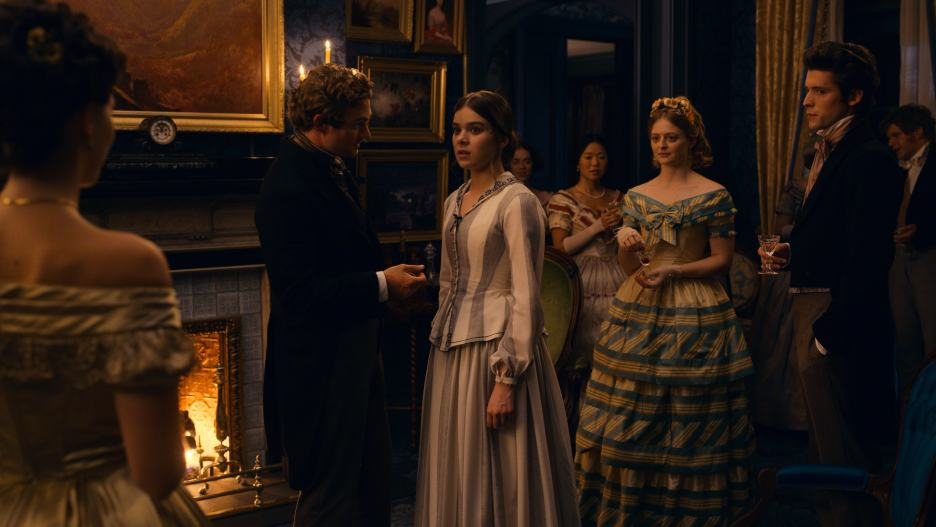Hailee Steinfeld and Finn Jones are at the center of the second season of Dickinson.