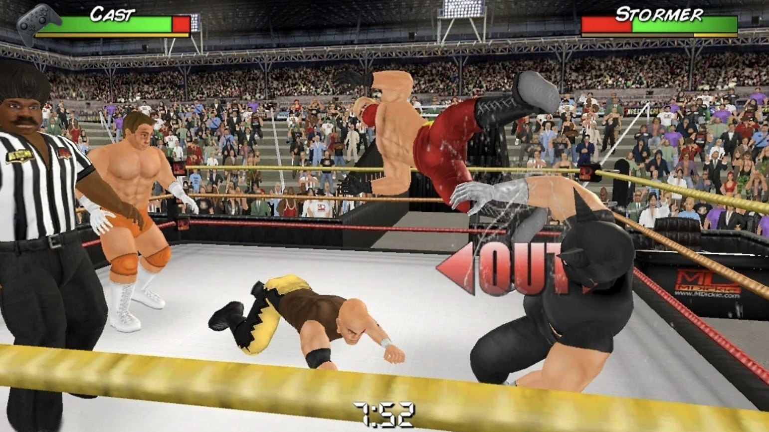 Wrestling Empire will bring mobile grappling hijinks to App Store