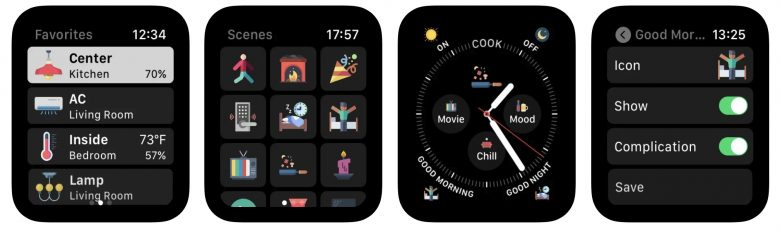 WristControl allows you to take control of your HomeKit directly from your Apple Watch.