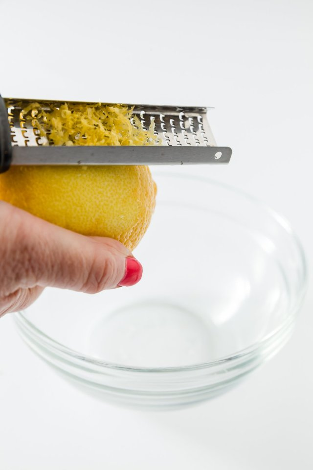 How to Zest a Lemon The Right Way - Cupcake Project