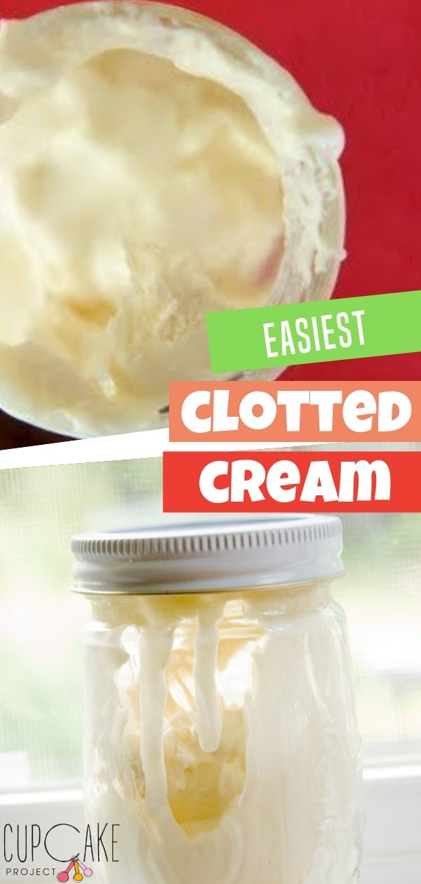 """Esta crema coagulada casera es realmente fácil de hacer para cualquiera. Esta receta de crema coagulada es sencilla: arrojas la crema en una olla y la pones en el horno. La crema coagulada es un ingrediente que generalmente se sirve en bollos o bollos. a la hora del té. """"data-pin-description ="""" Esta crema coagulada casera es realmente fácil de hacer para cualquiera. Esta receta de crema coagulada es sencilla: arrojas la crema en una olla y la pones en el horno. La crema coagulada es un ingrediente que generalmente se sirve en bollos o bollos. a la hora del té """".</noscript data-recalc-dims="""
