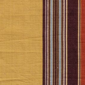 Barnaby Stripe Red Mustard Borderline Fabric Collection BL Barnaby Stripe BLB004