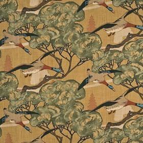 Flying Ducks Sand Best Of Mulberry Prints Fabric Collection MH FD205 N102