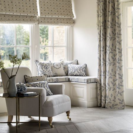 Richmond Fabric Collection Clarke And Clarke Curtains Amp Roman Blinds
