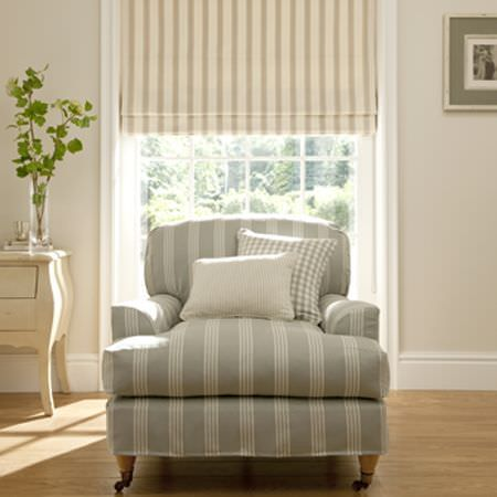 Ticking Stripes Fabric Collection Clarke And Clarke Curtains Amp Roman Blinds