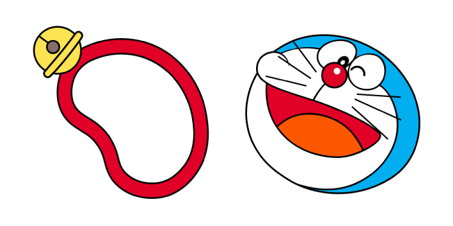 Gamers Discussion Hub doraemon-necklace-cursor-pack Top 35 Best Custom Cursor Windows 10 (2021)