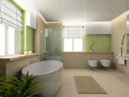 Wandgestaltung Badezimmer mit Wandtattoo & Spezialfarben