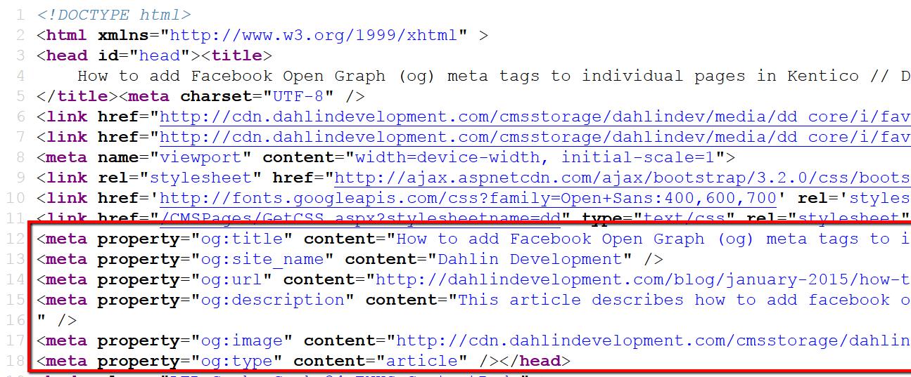 Write a meta tag description