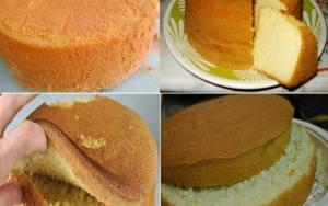 Pão de Ló Fofinho com 3 Ingredientes!