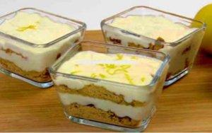 Como fazer uma deliciosa sobremesa gelada de limão e biscoito em 5 minutos e sem levar ao forno!