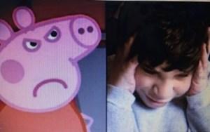 Psicólogos alertam os pais para não deixar que seus filhos vêem Peppa Pig