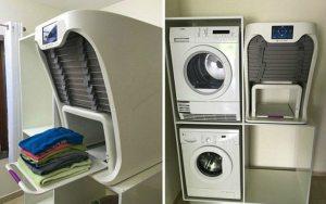 ATENÇÃO: Criaram uma máquina que passa e dobra suas roupas em segundos