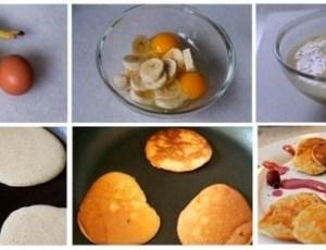 Pancake de banana super fácil