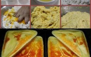 Pão de queijo com apenas 2 INGREDIENTES!