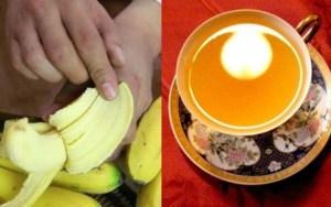 Beba Chá de Banana com Casca e Canela 1 Hora Antes de Dormir e Veja O Que Acontece! Impressionante!!