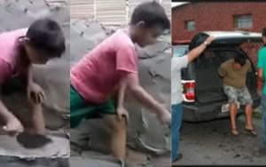 Absurdo, Conselho Tutelar pede a prisão de pai que gravou vídeo ensinando a profissão de pedreiro ao filho  Deixe sua opinião.