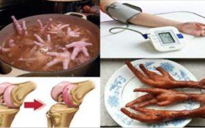 Estes são os surpreendentes benefícios que você terá por comer os pés da galinha!