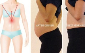 Seu estômago fica estufado mesmo que você não comeu muito? Faça isso imediatamente!