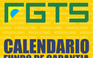 Atenção divulgado Calendário FGTS 2017  Quem tem direito a sacar o FGTS Confira;