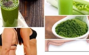 Receita natural para eliminar a gordura da barriga, costas e braços