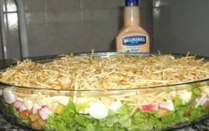 Salada Chic natalina
