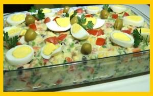 Salada especial de natal