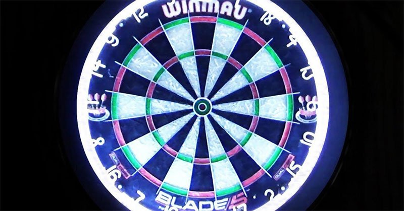 the best dartboard lights to play your