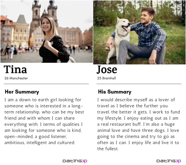 6 Online Dating Profile Examples of 621 — DatingXP.co