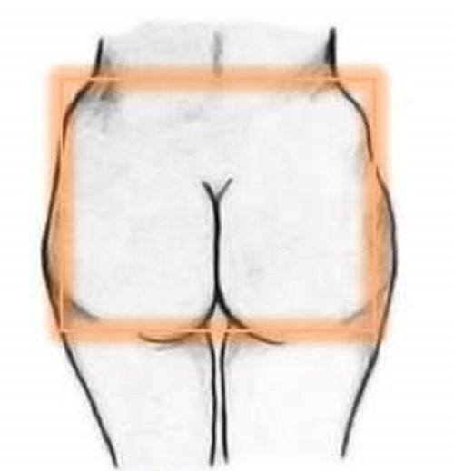 Square shape Bottom