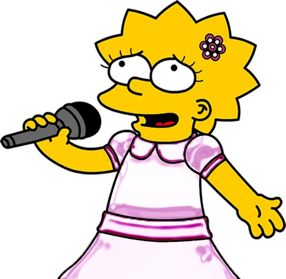 lisa_singing_by_steven4554-d3fn7hb