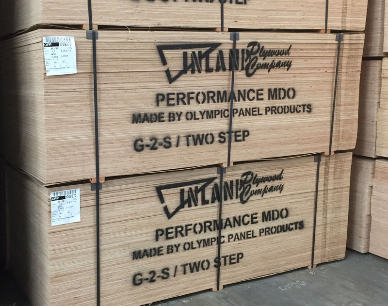 Pile of lumber