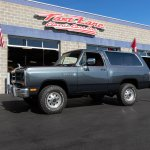 1988 Dodge Ramcharger Fast Lane Classic Cars