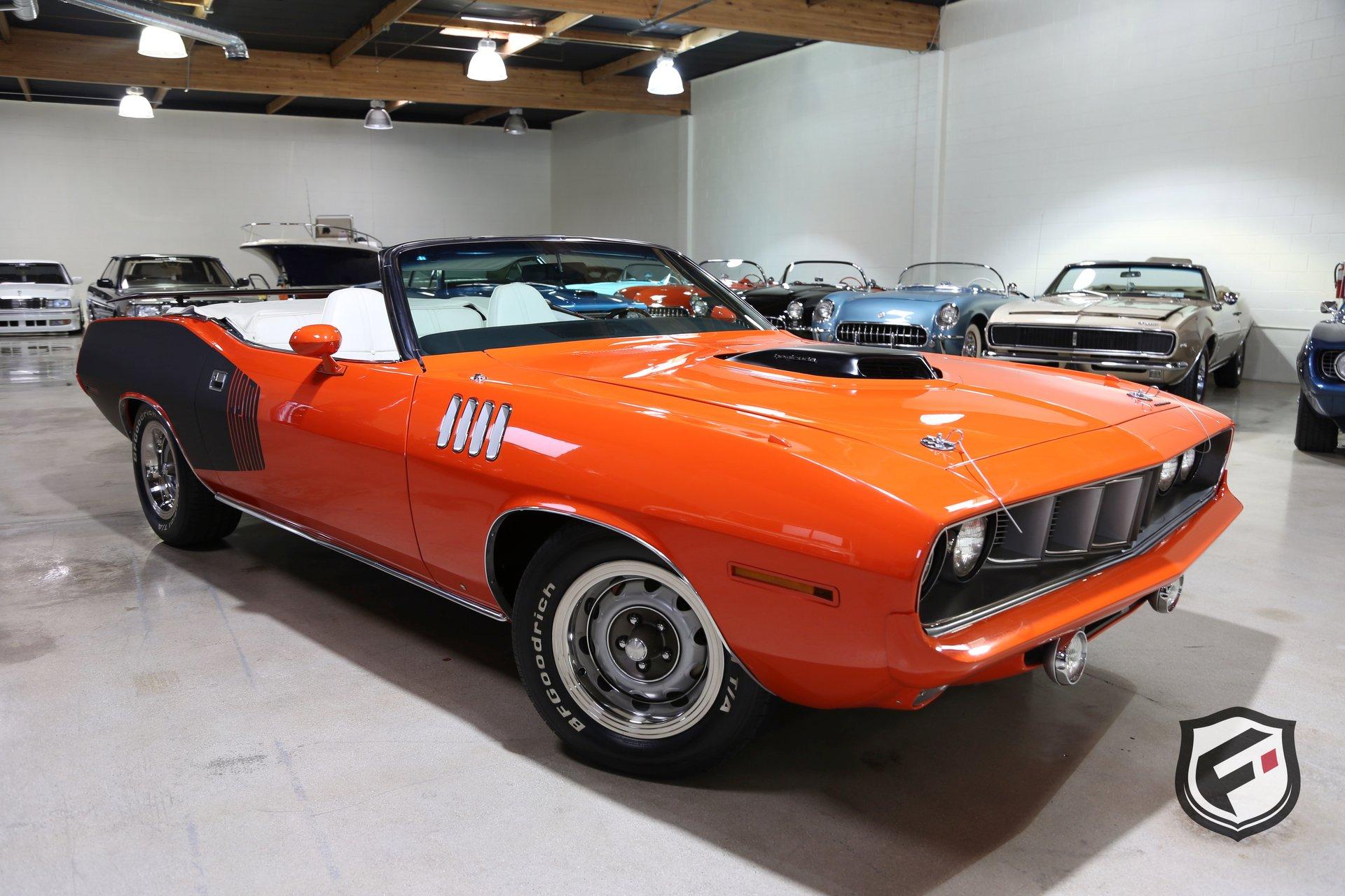 1971 Plymouth Cuda Fusion Luxury Motors