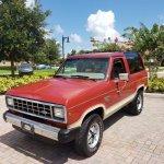 1985 Ford Bronco Ii 4 X 4 Premier Auction