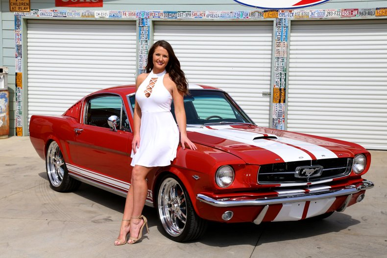 Beautiful 1965 ford fastback mustang. 1965 Ford Mustang Fastback 289 A Code Power Steering Power Disc Brakes Acclassic Cars Muscle Cars For Sale In Knoxville Tn