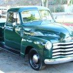 1951 Chevrolet 3100 5 Window Pickup Vintage Car Collector