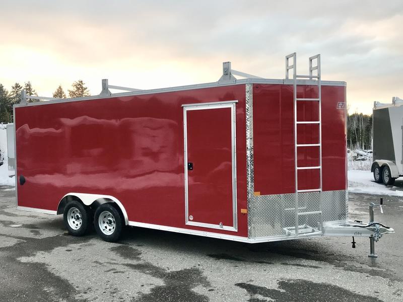 7k aluminum enclosed cargo trailer