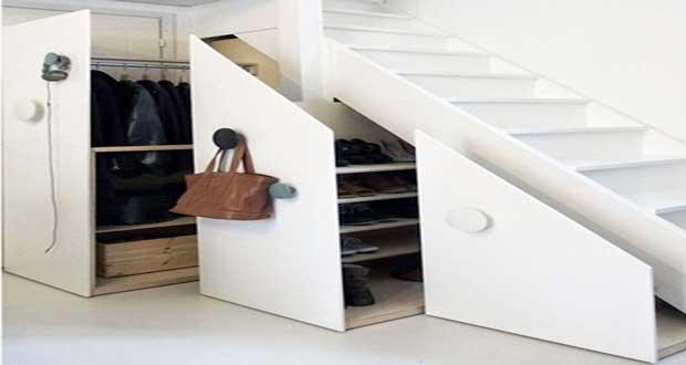 espace fute sous l escalier
