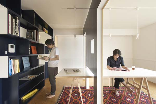 Transforming A Small Apartment Into A Home Officeliving