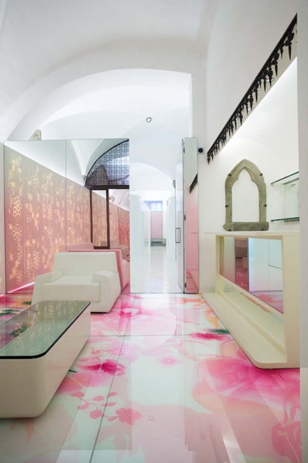 Relaxing Mixture Of Colours Skin Aesthetic Clinic Interior Design