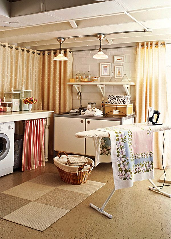 30 coolest laundry room design ideas for today s modern homes on laundry room wall covering ideas id=45579