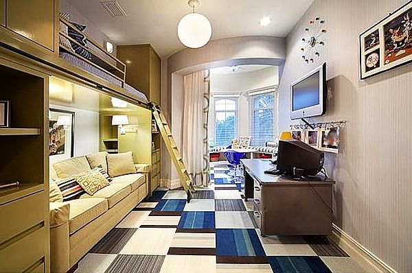 Teenage Boys Rooms Inspiration: 29 Brilliant Ideas on Cool Bedroom Ideas For Teenage Guys With Small Rooms  id=54863