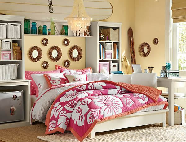 Teenage Girls Rooms Inspiration: 55 Design Ideas on Teen Room Girl  id=19591