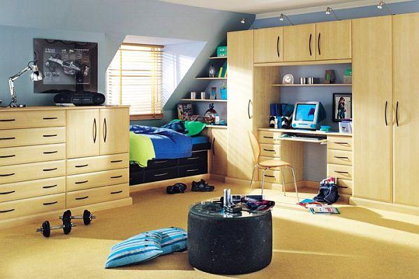 Teenage Boys Rooms Inspiration: 29 Brilliant Ideas on Cool Rooms For Teenage Guys  id=89105