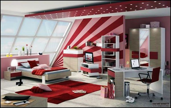 Teenage Girls Rooms Inspiration: 55 Design Ideas on Room For Girls Teenagers  id=91411