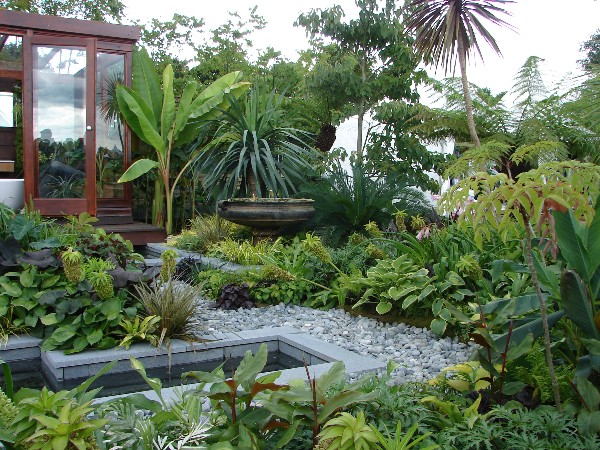 tropical garden design 30 Unique Garden Design Ideas
