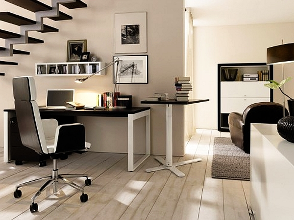 20 Home Office Decorating Ideas for a Cozy Workplace View in gallery